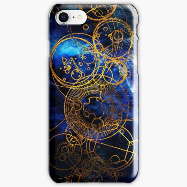 Time Lord Writing (blue) iPhone Snap Case