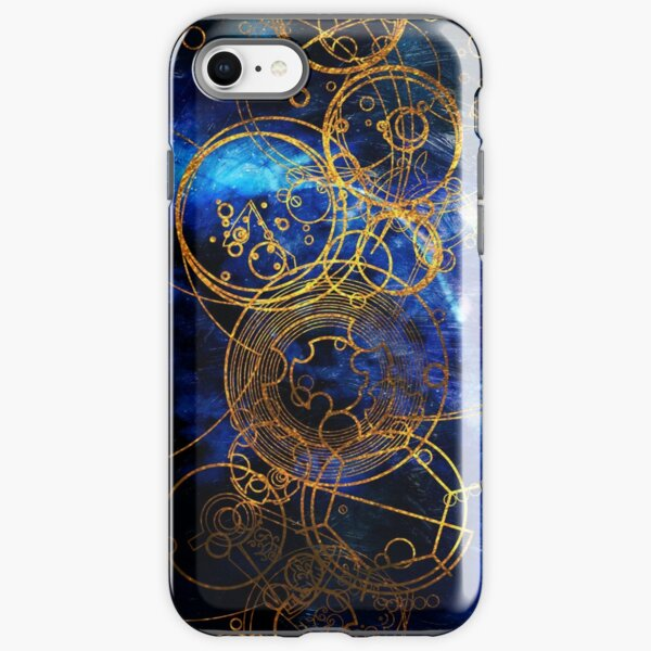 Time Lord Writing (blue) iPhone Tough Case