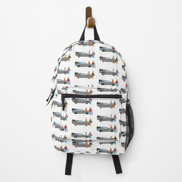 Back to the Future Delorian Backpack