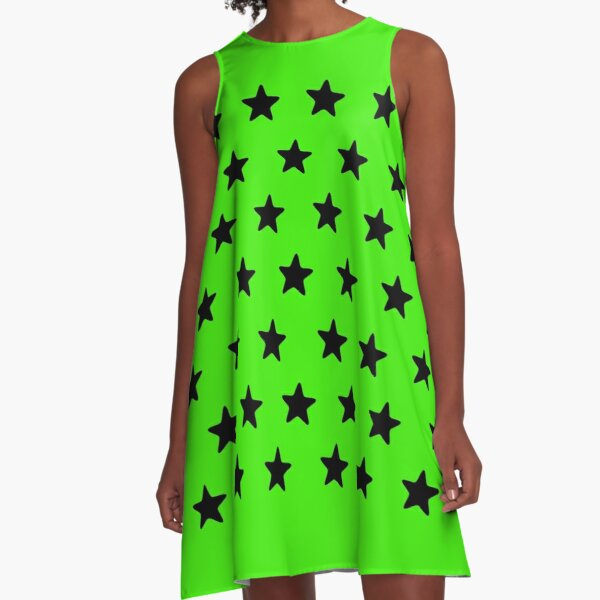 Go green A-Line Dress