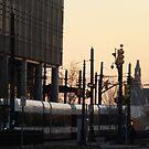 Hudson-Bergen Light Rail, Jersey City, New Jersey  by lenspiro