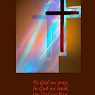 The Amazing Shining Cross by MacroXscape