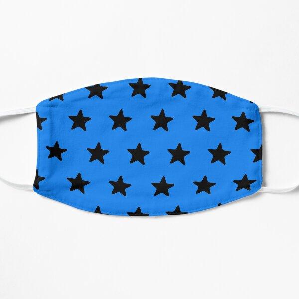Black n blue Flat Mask