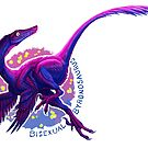 Bisexual Byronosaurus (with text)  by R.A.  Faller