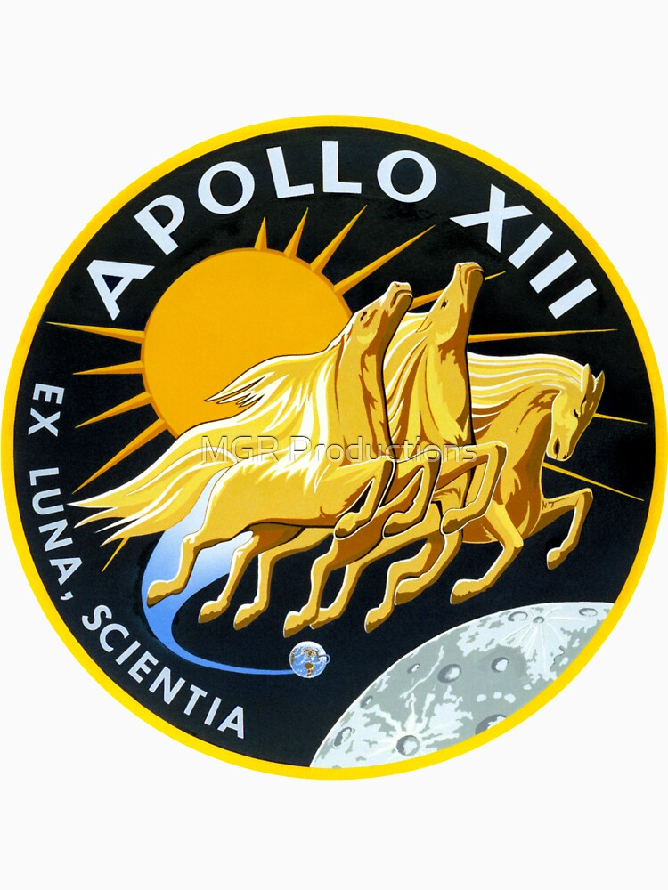 Apollo 13 Mission Logo by Quatrosales