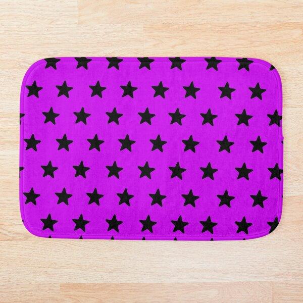 Starry pinksation Bath Mat