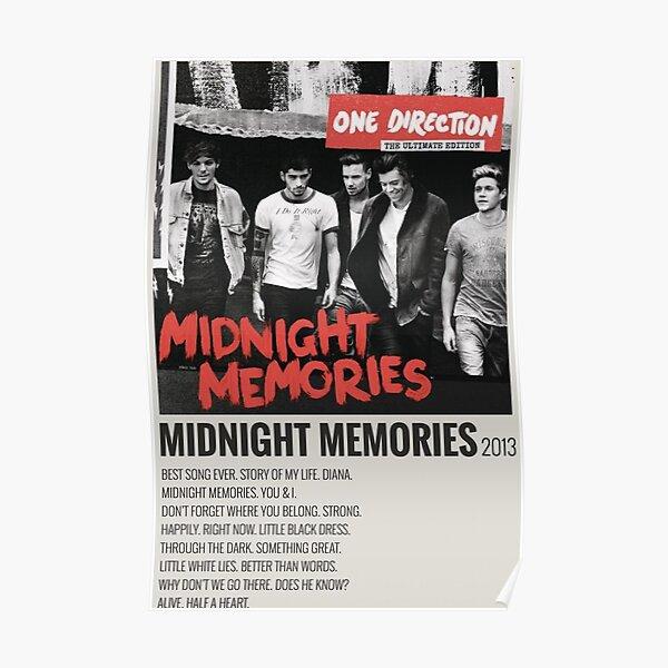 MIDNIGHT MEMORIES 2013 Poster