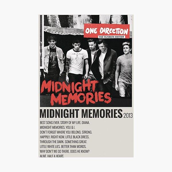 MIDNIGHT MEMORIES 2013 Photographic Print