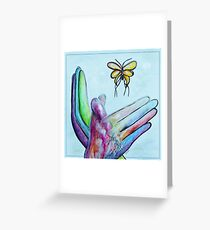 American Sign Language BUTTERFLY Greeting Card