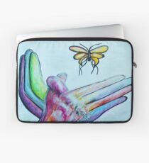 American Sign Language BUTTERFLY Laptop Sleeve