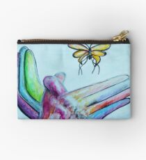 American Sign Language BUTTERFLY Studio Pouch