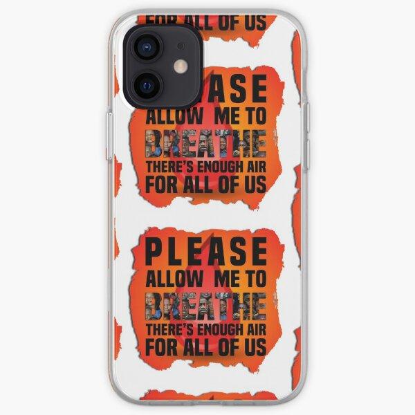 Please Let Me Breathe iPhone Soft Case