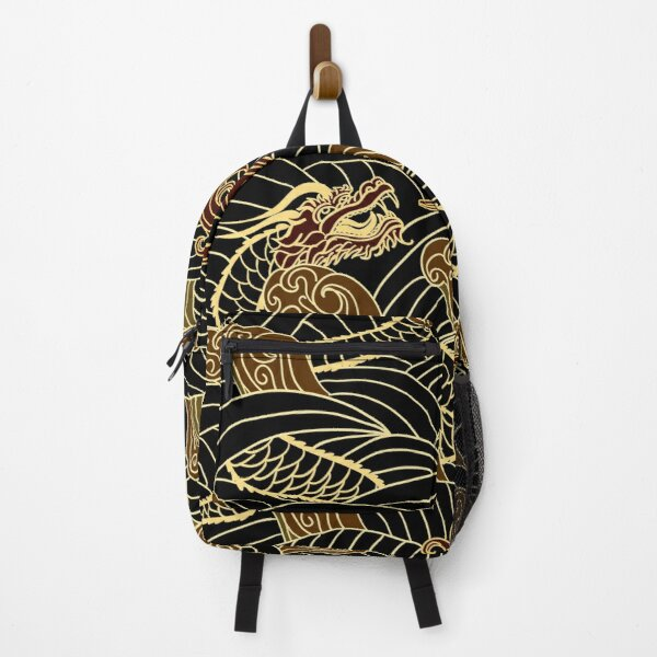 Chinese Dragons Pattern Backpack