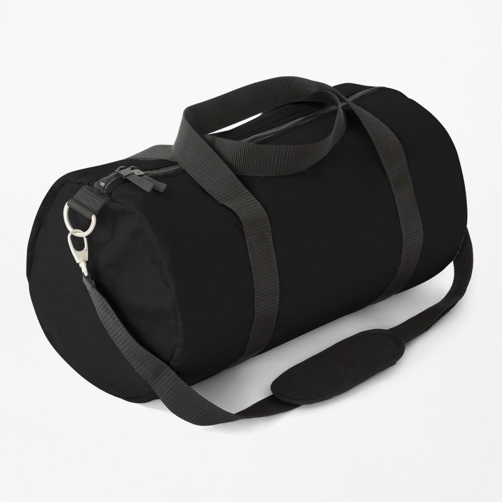 all black Duffle Bag