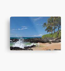 Makena Cove, Maui Metal Print