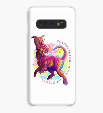 Pansexual Pachyrhinosaurus (with text)  Case/Skin for Samsung Galaxy