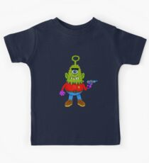 Cyclops Alien Beasty Kids Tee