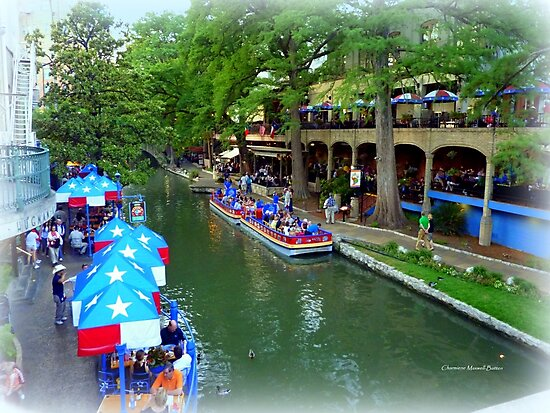 Patriotic Riverwalk by Charmiene Maxwell-Batten