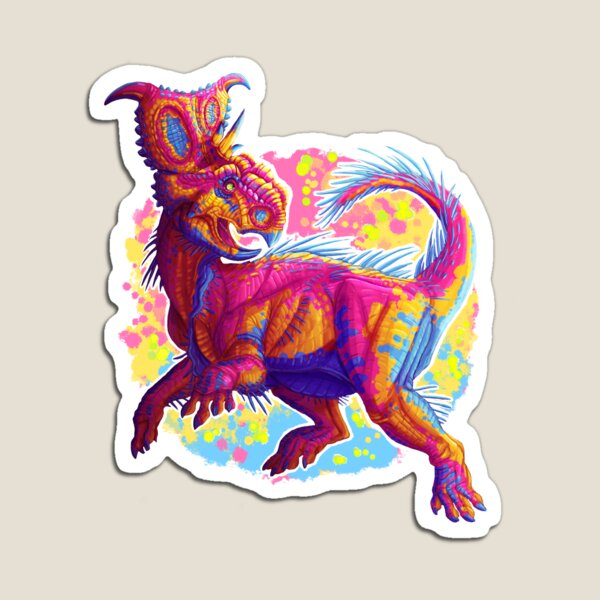 Pachyrhinosaurus (without text)  Magnet