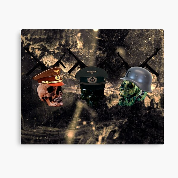 The Hunting of Skull Canvas Print