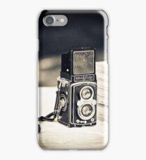 Vintage Rolleiflex Camera iPhone Case/Skin