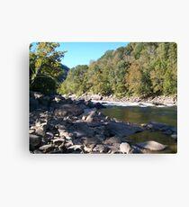 Appalachian River  Canvas Print