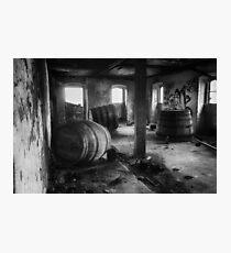 Forgotten Casks Photographic Print