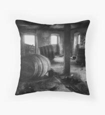 Forgotten Casks Throw Pillow