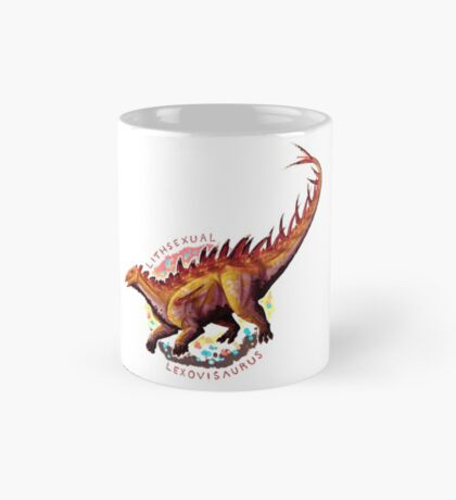 Lithsexual Lexovisaurus (with text)  Mug