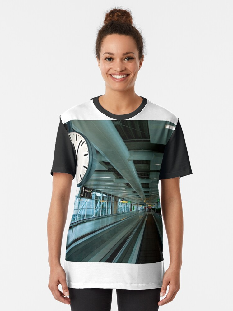 Alternate view of Departure Time 12:20 Graphic T-Shirt