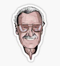 Stan Lee Sticker