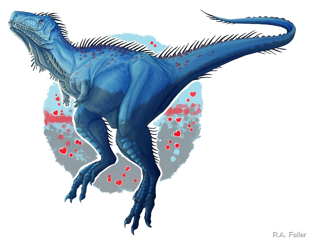 Aucasaurus (without text) by R.A.  Faller