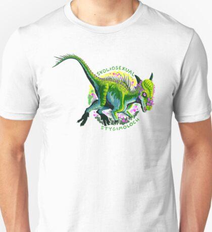 Skoliosexual Stygimoloch (with text)  T-Shirt