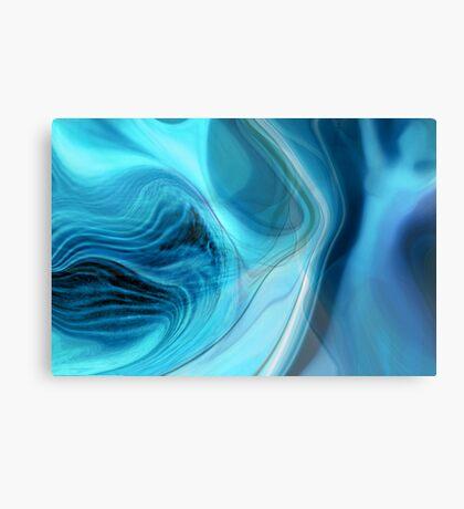 Blue Dance Canvas Print