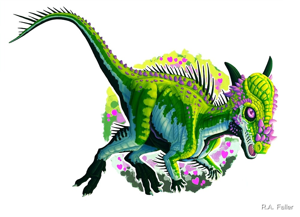 Stygimoloch (without text)  by R.A.  Faller