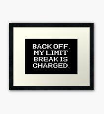 RPG - Limit Break Framed Print