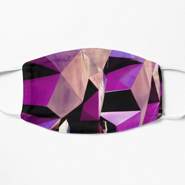 Abstract Geometric Purple Photograph Print  Mask