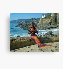 Dangerous Mermaid Canvas Print
