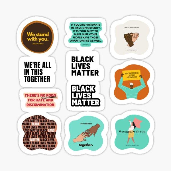 Human Rights Civil Rights Sticker Pack Sticker