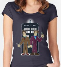 The Day of the Doctor Women's Fitted Scoop T-Shirt