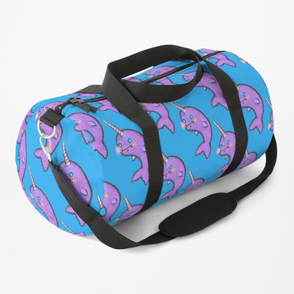 It's a Narwhal Duffle Bag