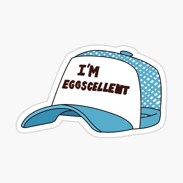 Soy Eggscelent RegularShow Pegatina