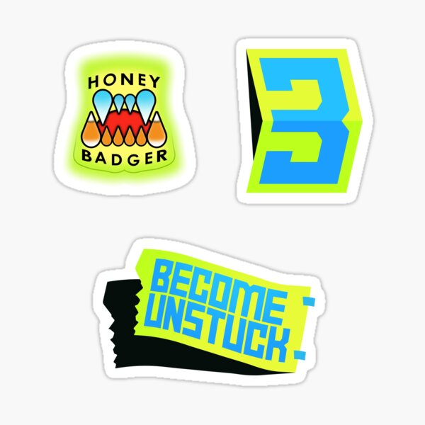 Become Unstuck Sticker