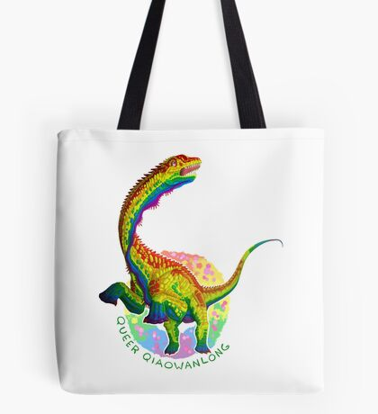 Queer Qiaowanlong (with text)  Tote Bag