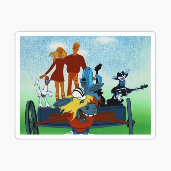 The Musicians from Bremen, Old Soviet Cartoon Sticker