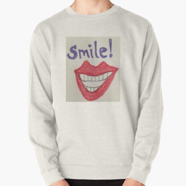 Smile! Pullover Sweatshirt
