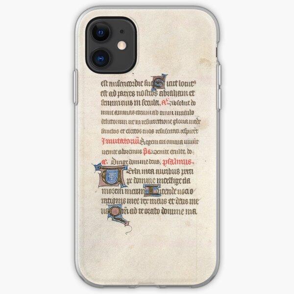Medieval Illuminated Manuscript iPhone Soft Case