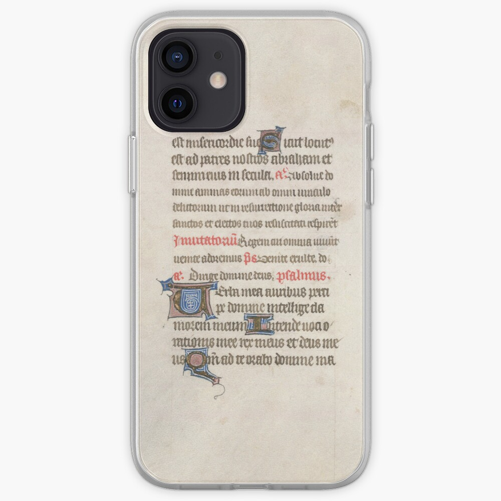 Medieval Illuminated Manuscript iPhone Case & Cover