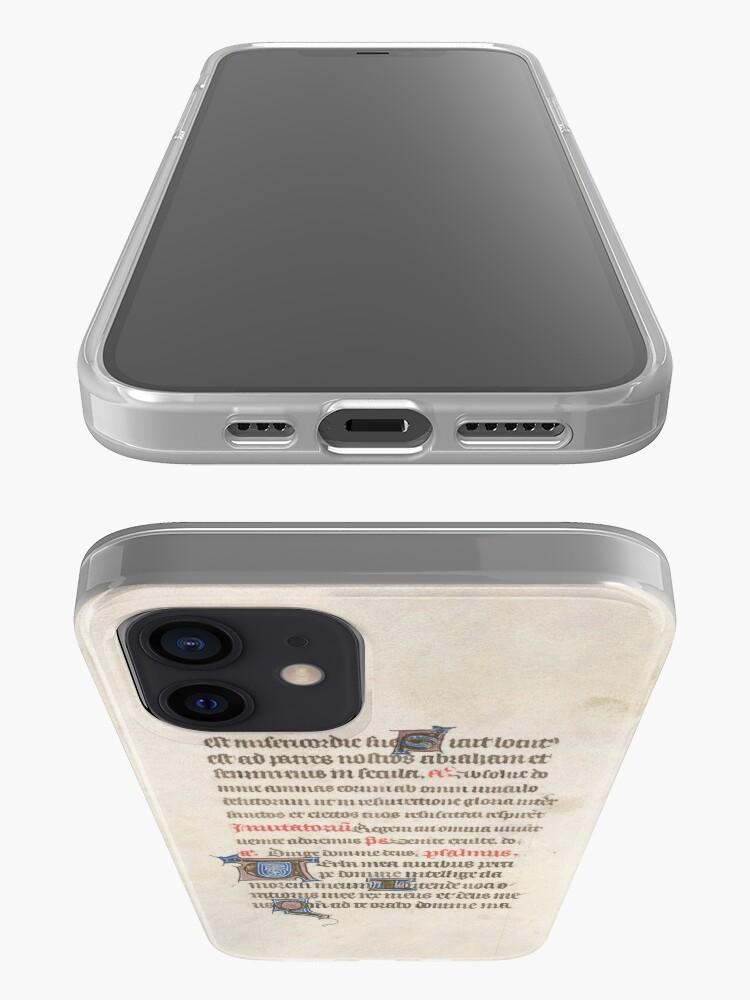 Alternate view of Medieval Illuminated Manuscript iPhone Case & Cover