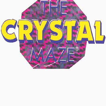 Crystal Maze Logo by geandonion
